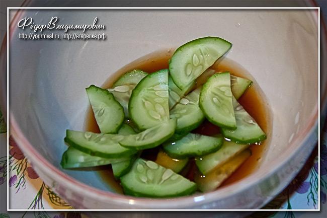 Простой закусочный салат