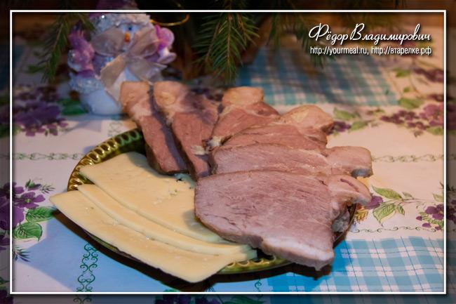 Запеченная бутербродная свинина.