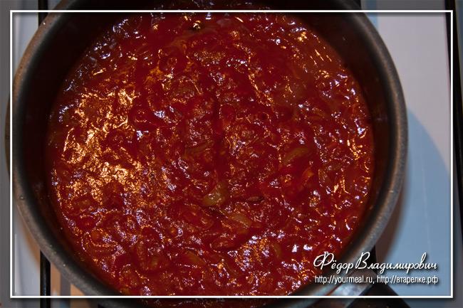 Томатный соус. Домашняя альтернатива кетчупу.