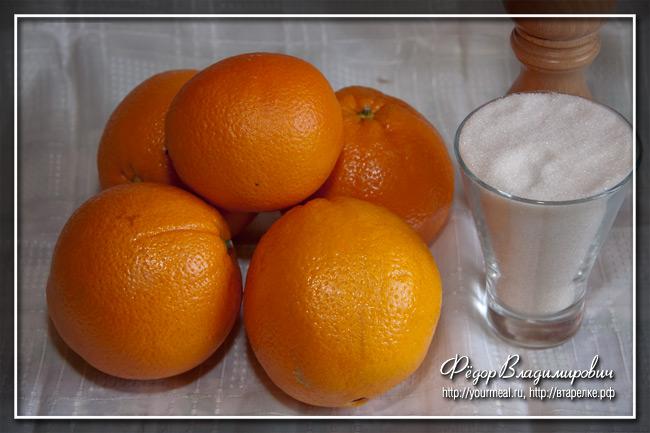 Цукаты из апельсиновых или лимонных корок.