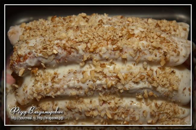 Блинный торт. Шапка Гугуцэ.