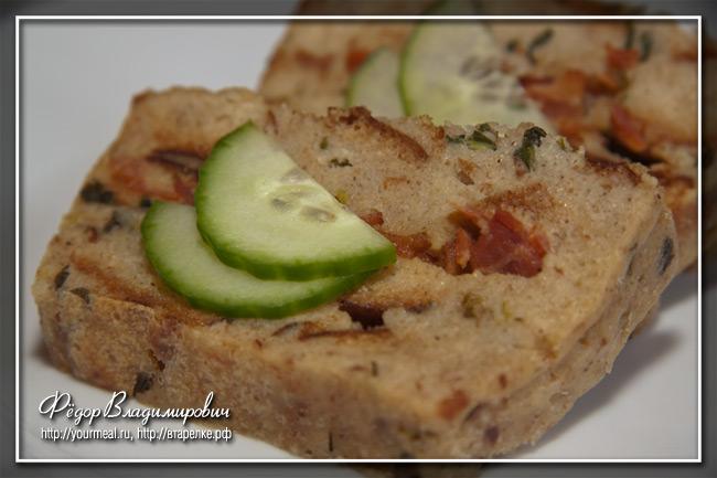 Пудинг из черствого хлеба.