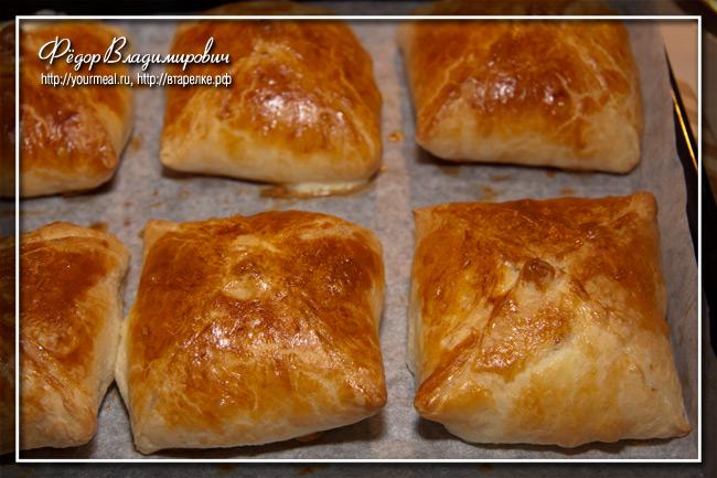 Пирожки с адыгейским сыром.