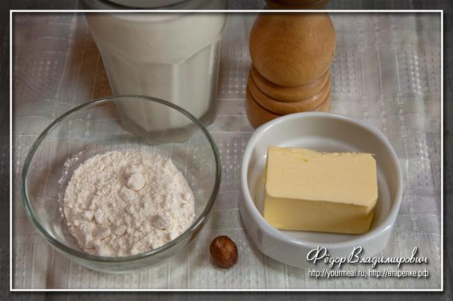 Соус бешамель без молока рецепт