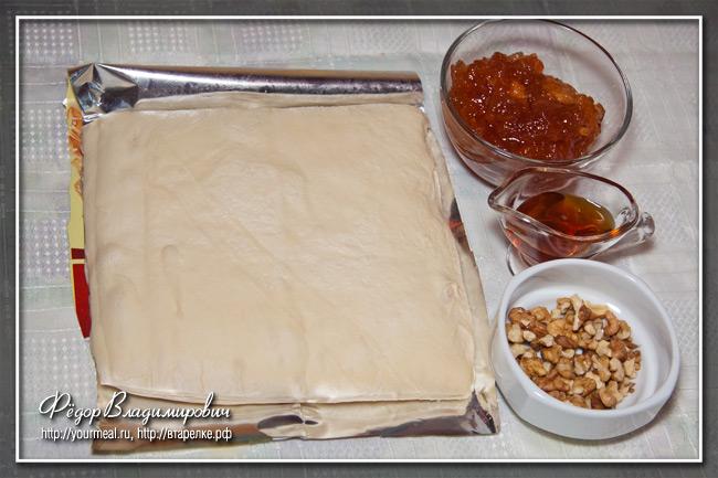 Пирожки с яблоками и кленовым сиропом.