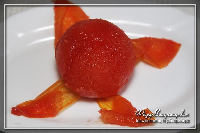 Альмогроте - паштет из сыра с помидором.