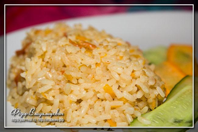 Рис в соусе