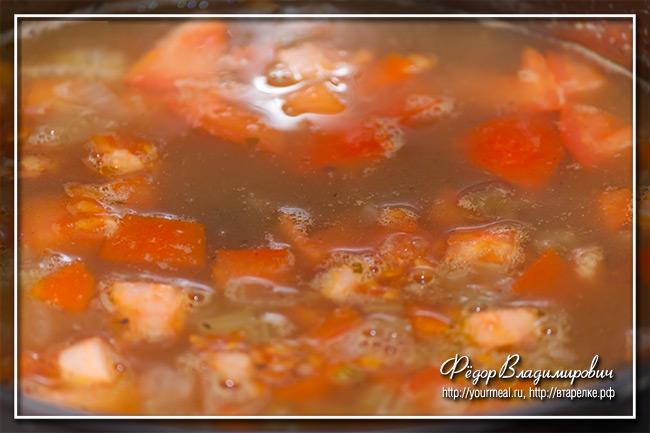 Суп 7 бобов