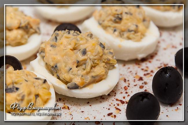 Фаршированные яйца по-мексикански