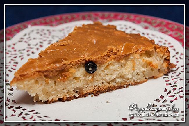 Яблочный пирог со сливочной карамелью