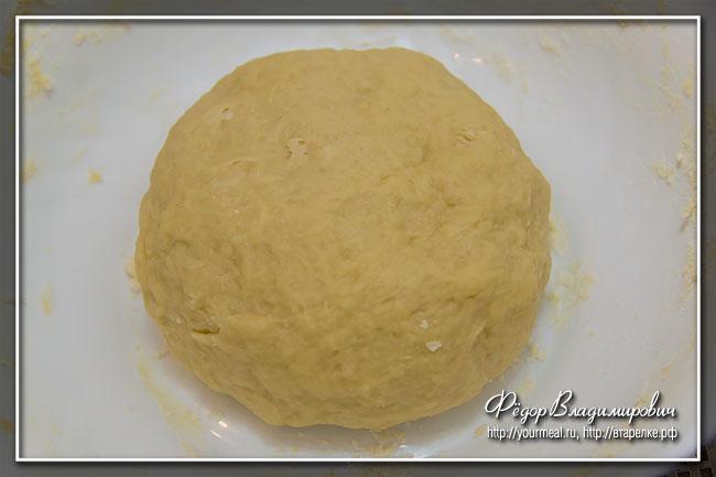 Тарт Фламбэ - эльзасский тарт с луком и беконом