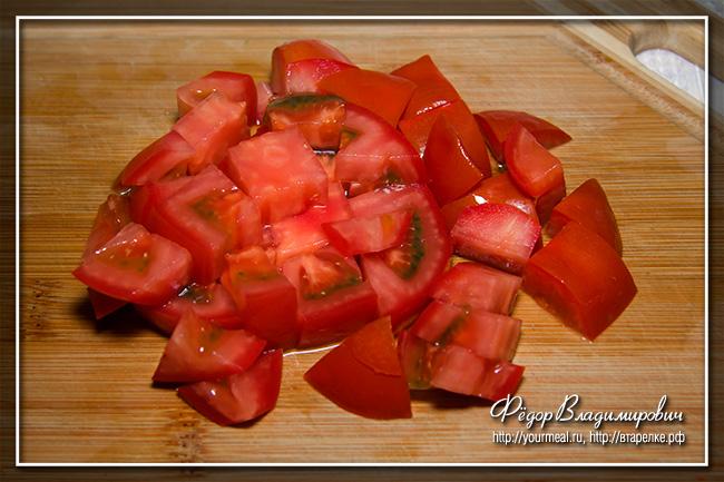 Сербский салат.