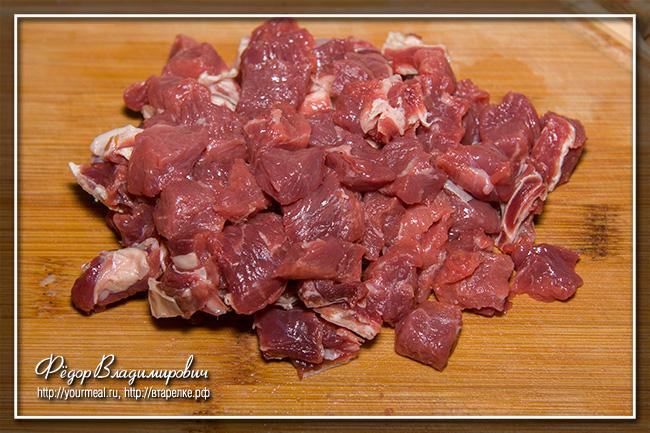 Чорба из мяса