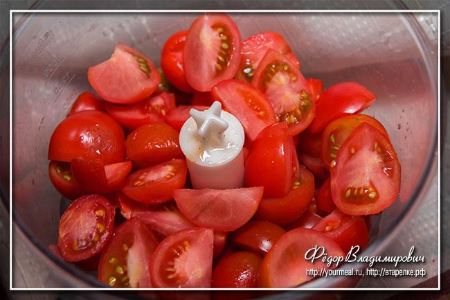 Острый томатный соус на зиму. Огонек.