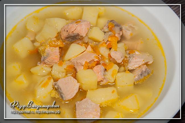 Суп из форели