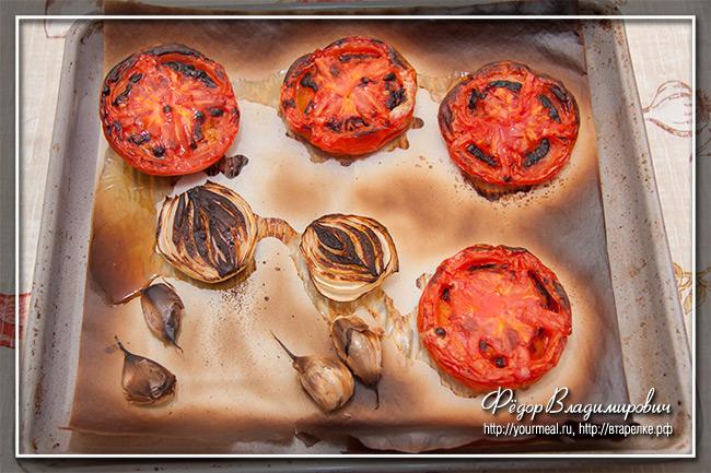 Сальса из помидоров. Сальса Роха