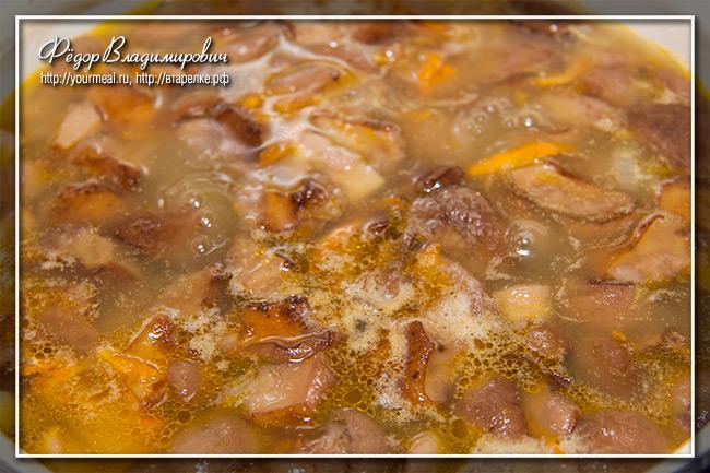 суп пюре из лесных грибов рецепты