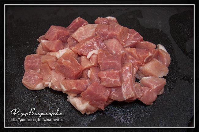 Свинина в соусе баже
