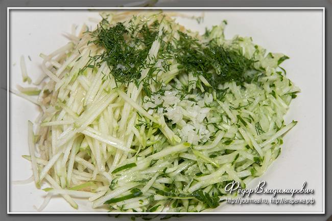 рецепт салат терка для