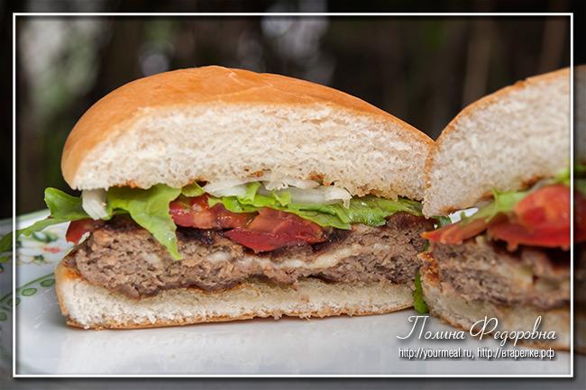 Сэндвич Juicy Lucy