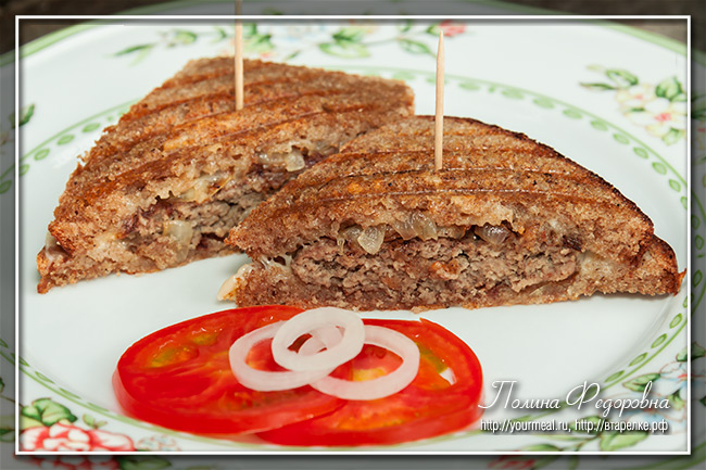 Сэндвич Patty Melt