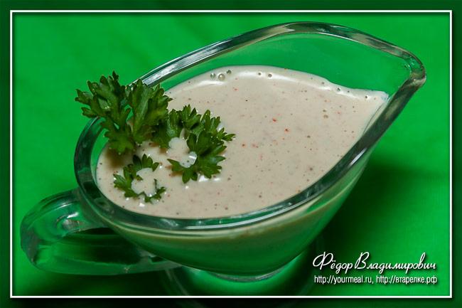 Алабамский белый соус для барбекю