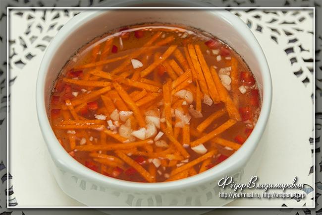 Ныок чам (Nuok Cham). Вьетнамский соус дип.