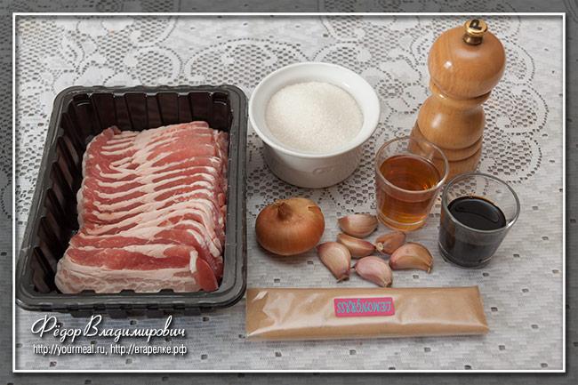 Свинина в карамели Суон Ньон (Suon Nuong)