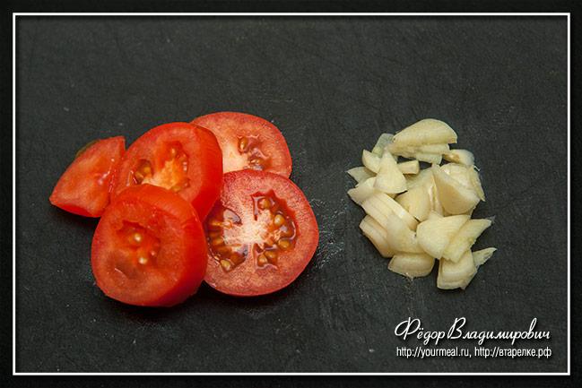 Итальянский овощной суп с пастой