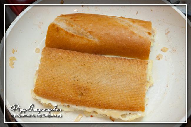 Roti John - малайзийский сэндвич с яйцом