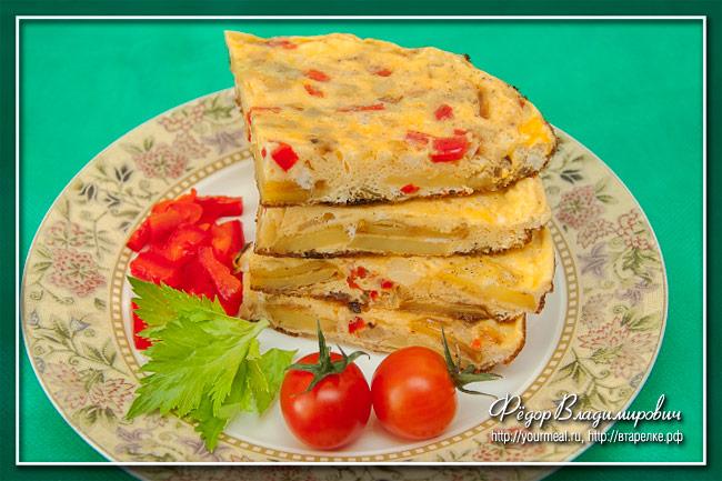 Тортилья - испанский омлет