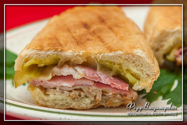 Сэндвич Медианоче (Полночь)