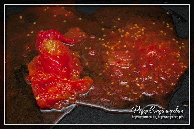 Неаполитанский томатный соус для пиццы