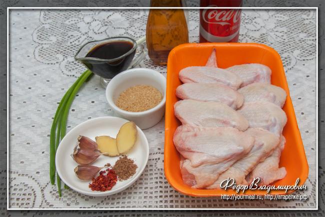 Куриные крылышки в Кока-Коле ( Coca-Cola Chicken Wings )