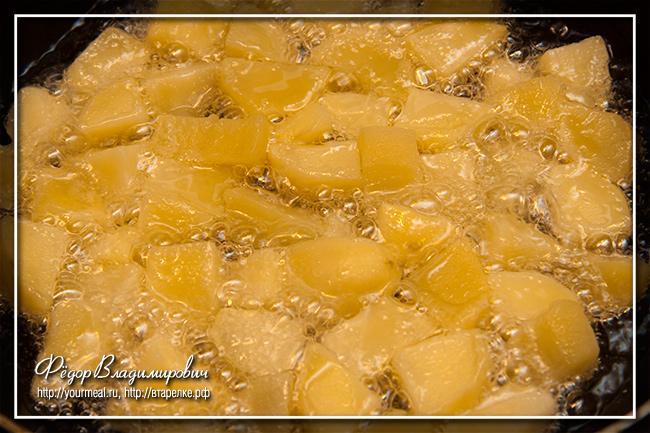 Пататас Бравас - отважная картошка Patatas Bravas
