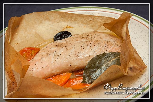 Рецепт филе индейки в фольге и в духовку