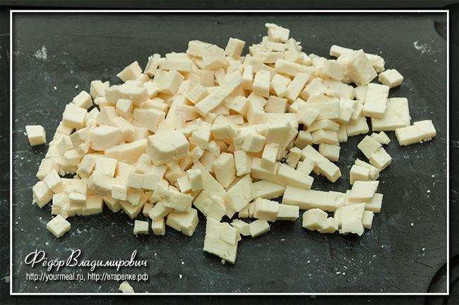 Капустная запеканка с сыром