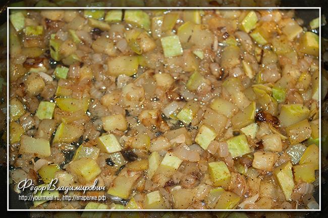 Паста со сливочно-кабачковым соусом