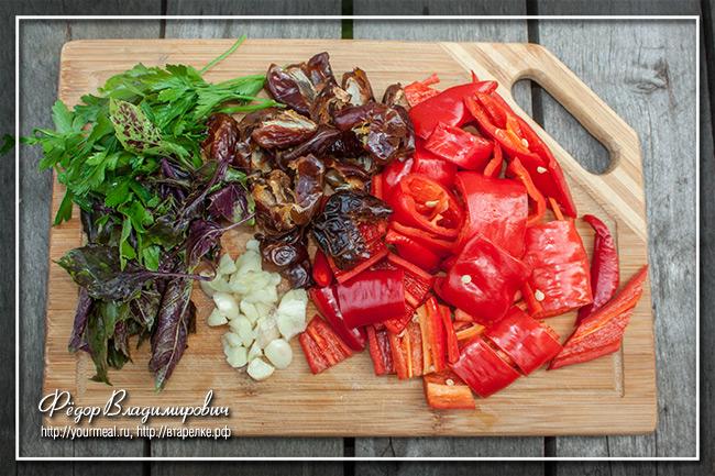 Камерунский острый соус