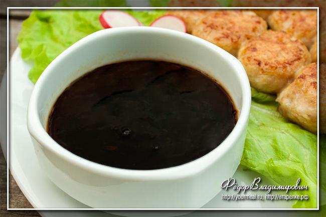 Соус Тарэ (соус Якитори) для японских шашлычков из курицы
