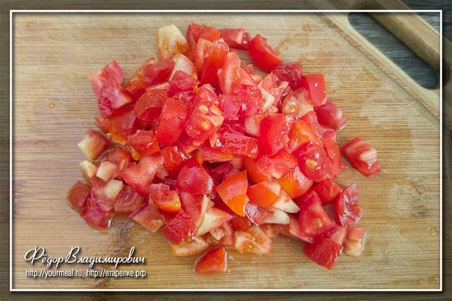 Тушеная капуста с колбасой