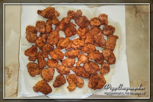KFC Chicken popcorn или Чикен Байтс