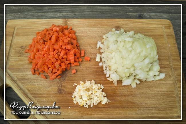 Суп из баранины с картофелем и рисом