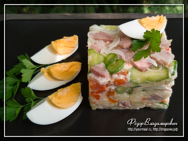 Японский картофельный салат